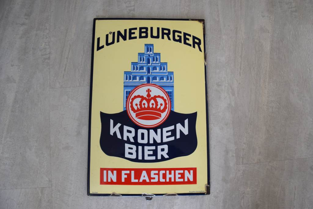 emailleschild-lueneburger-kronen-bier