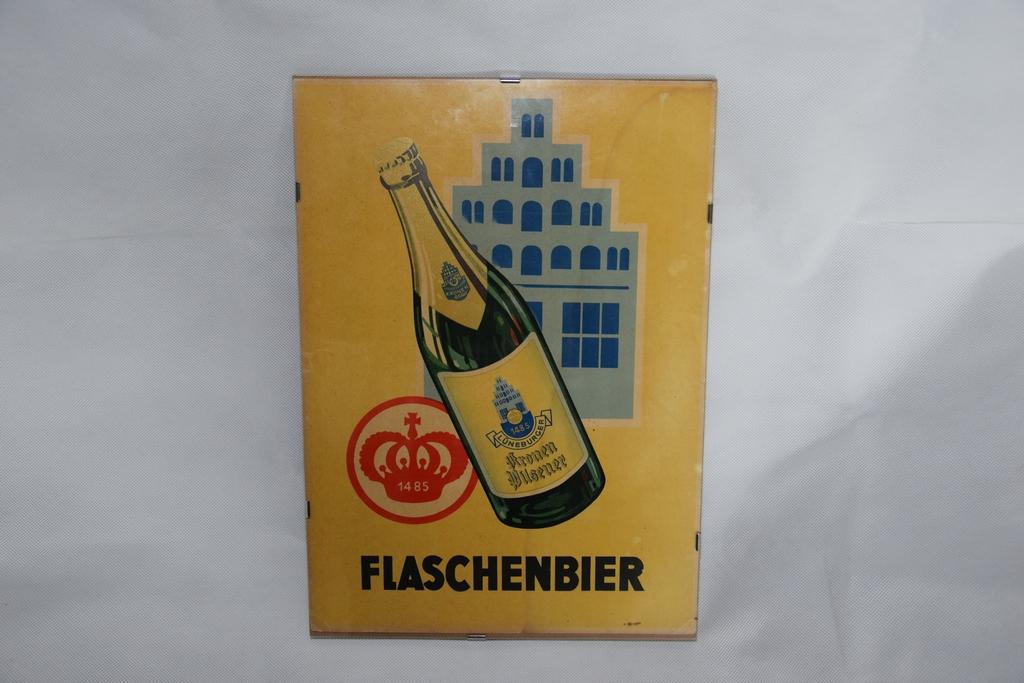 lueneburger-kronen-pilsener-flaschenbier-plakat