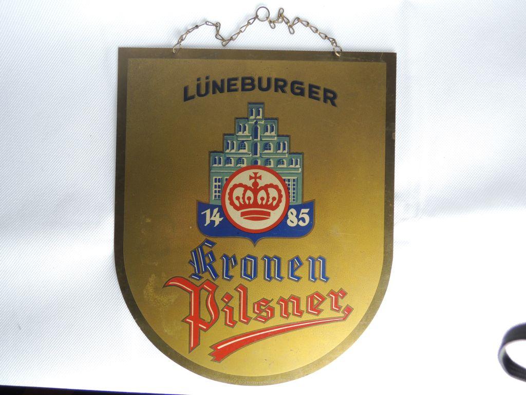 lueneburger-kronen-pilsner-schild-messing