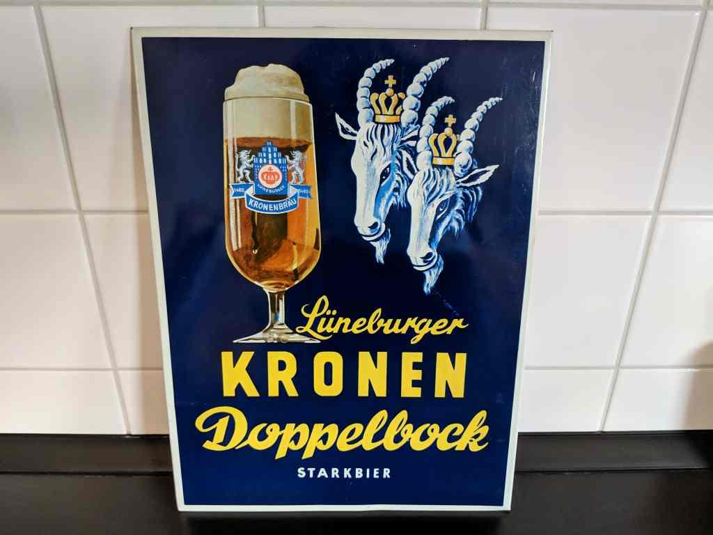 lueneburger_kronen_doppelbock_starkbier_blechschild