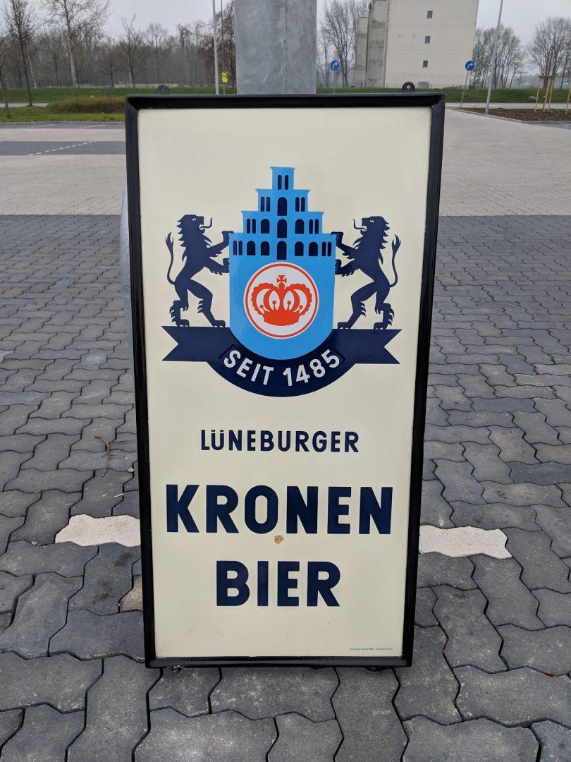 lueneburger_kronenbrauerei_emailleschild_50mal100