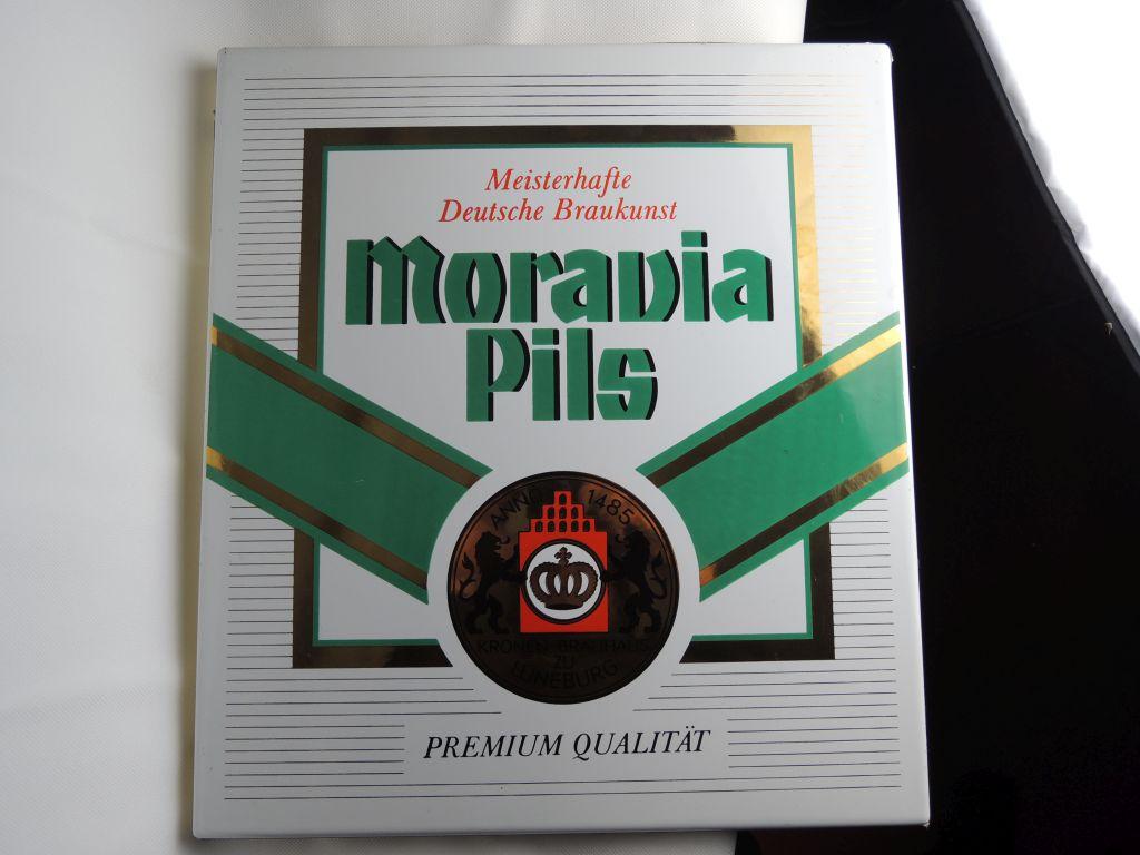 moravia-pils-blechschild